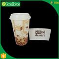 disposable printed coffee cup sleeves logo