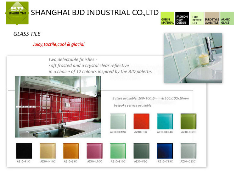 High quality and cheap red big size large glass tile 600x1200mm