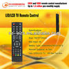 learning or universal LCD TV remote control with Jumbo keys and case