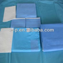 Orthopaedic surgery drape kit for hospital and clinic