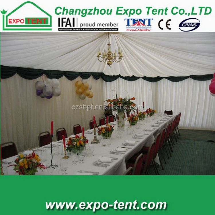 Fashion hot sale luxury decoration new year party tent