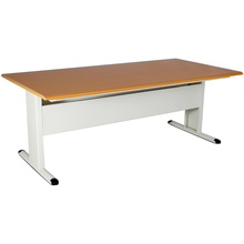 school 3 people reading desk in folding and metal furniture JT-155 for library and student use