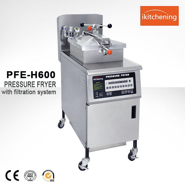 Fully Automatic KFC chicken frying machine, Broaster chicken pressure fryer machine for Fried Chicken