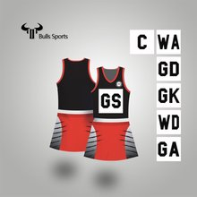 Custom sportswear for women cheap sublimated netball skirts/ dress