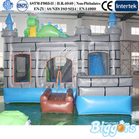 In Stock Durable PVC Material Indoor Castle Dinosaur Inflatable Bouncer