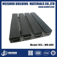 2015 popular double stripe anti-bacteria Aluminium alloy indoor rubber mat