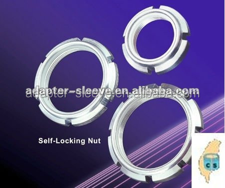 Taiwan GUK high precision stainless steel hex lock slotted round nuts