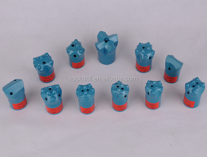 28mm - 60mm Tungsten Carbide Rock Drill Bits