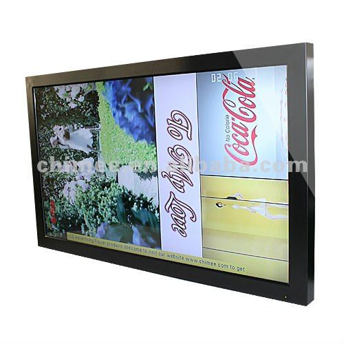 55inch lcd advertising video player