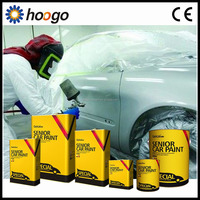 silver and white color refinish paint car coating