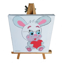 Kids DIY painting pattern canvas DIY stretched canvas