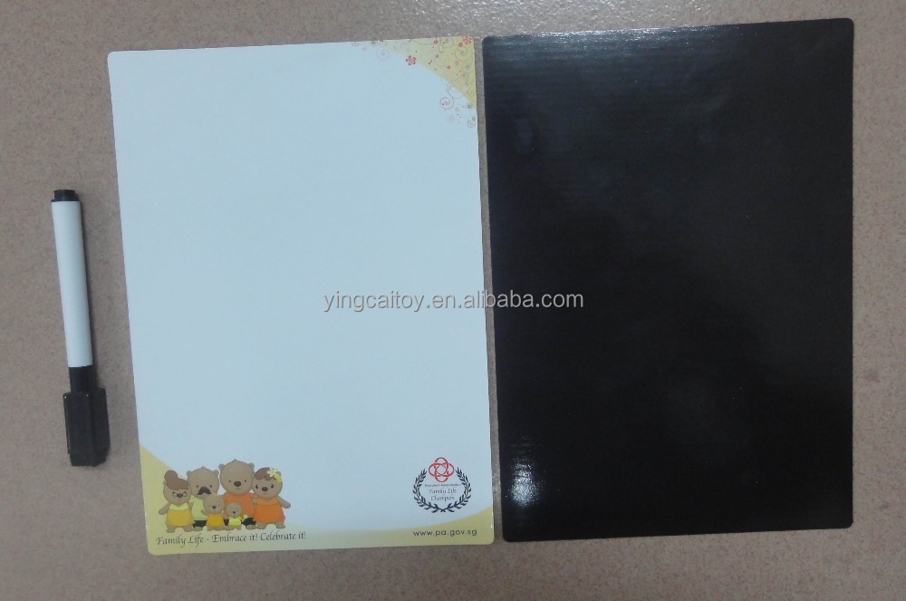 Magnetic Memo Sheet with dry erase pen, size 21x15cm