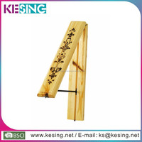 Wooden Multifunctional folding wall mounted clothes hanger