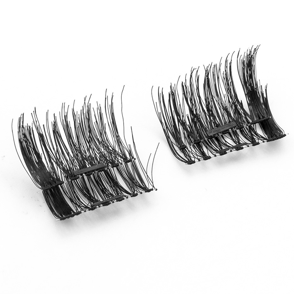 New products wholesale eyelash extension accessories natural synthetic 3D false magnetic lashes