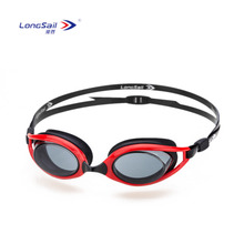 Competition advanced silicone PC lens safety anti-fog adult swimming goggles