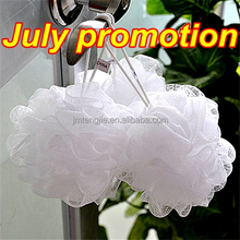 July promotion colored mesh sponge wholesale