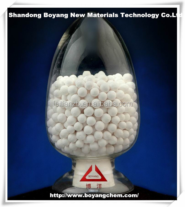 Activated alumina as deliming agent for polyethylene Bo Yang Brand
