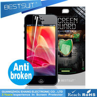 Used mobile phone color screen protector for iphone 5c