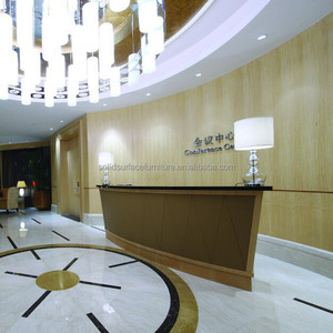 Hotel furniture high quality modern hotel customer service counter