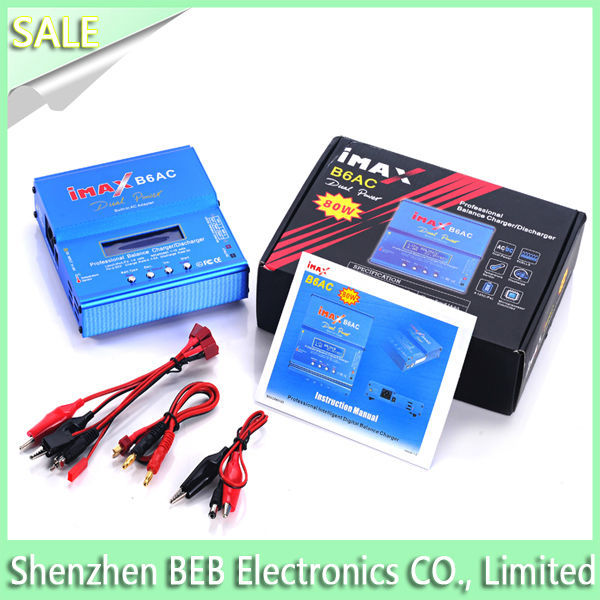 The digital and best OEM IMAX B6AC B6 AC charger for 2-6S lipo/lion/LiFe battery(110V-240V) with amazed price