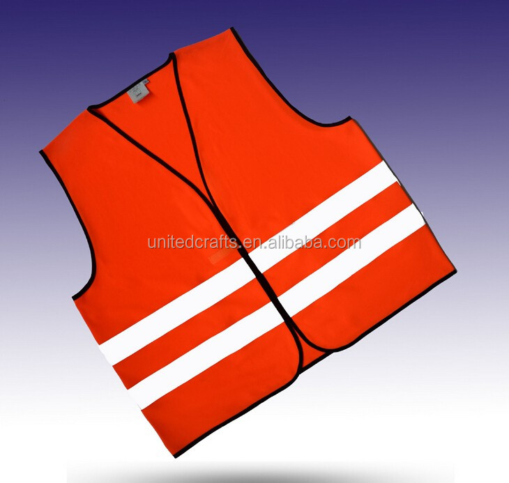 High Visibility Warning Security Working Reflective Vest light elastic band vest