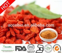 Factory offer natural Goji Extract, goji berry , Chinease traditional fruit for kidney health