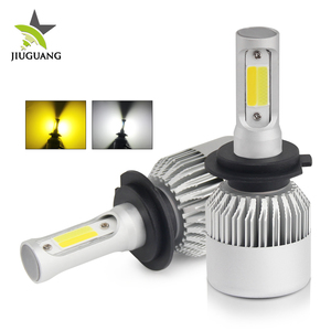 High Low Beam Dual Color Automatic H4 Led Headlight Bulb S2