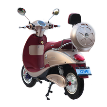 Fashion Style Strong Geared Motor Hybrid Moped