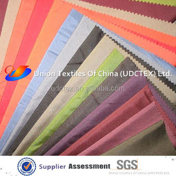 75D polyester pongee fabric for dress lining
