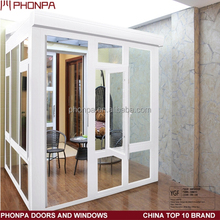 2016 latest design low-e glass sunrooms aluminum frame double glass sunrooms supplier