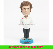polyresin hysteria dexter wholesale bobbleheads custom talking bobbleheads manufacturer in china