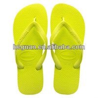 yellow color flip flops for women/men