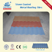 color stone coated steel roofing for slop inprovement