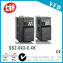 Shihlin 0.5hp 0.4kw 440v 50hz60hz three phase variable frequency drive inverter