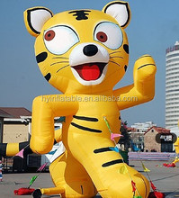 Custom 1.8m advertising inflatable costume suit,inflatable tiger costume