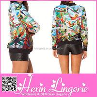 Whlesale China supplier H letter brand jacket blazer women