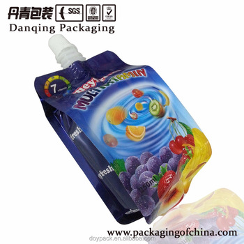 alibaba China Customized printing Stand Up Pouch for beverage