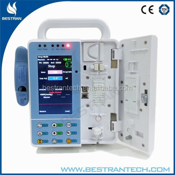 BT-IP900 Drug library,History record,Heating function,Drip detector economic top syringe pump sales