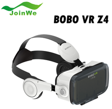 "2016 VR 3D glasses Bobo vr Z4 3D glasses with headphone Virtual Reality headset for 4.7"" - 6.0"" SmartPhone OEM"