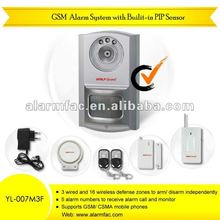 The New gsm wireless fence sensor security alarm system With built-in PIR sensor with door alarm(YL007M3F)