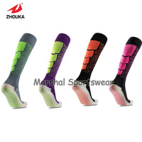 Top quality soccer socks,wholesale price, with point rubber Non-slip,all colors available