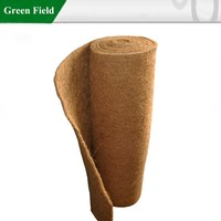 Green Field coco mat roll,coconut fiber roll coir matting rolls