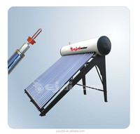 Heat pipe High Pressure Solar water Heater Production with 18 tubes