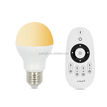 Environmental protection led bulb with rf wireless remote control 2.4g for household lighting