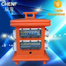 Power Portable Combination orange socket board Box IP67 industrial electrical Junction boxes