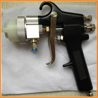 Hot rose gold Ningbo new type best double nozzle spray gun car paint sprayer