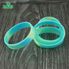 Custom made promotional silicone printed wrist band bracelet rubber wristbands