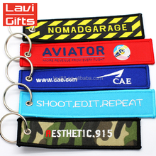 Top Sale Custom Embroidery Keychain Short Lanyard