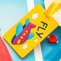 Hot Selling Silicone Travel Luggage Tag