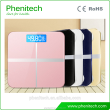 Digital body fat analyser bathroom scale / electronic weight scale